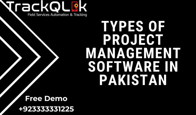 Types Of Project Management Software In Pakistan