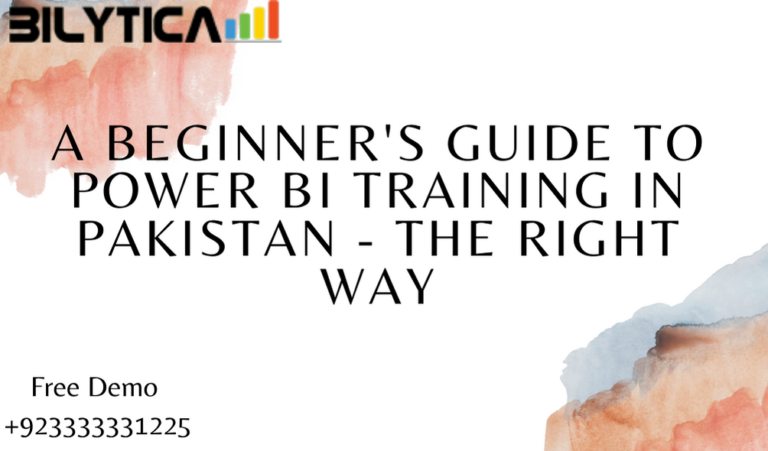 A Beginner's Guide to Power BI Training in Pakistan - the Right Way